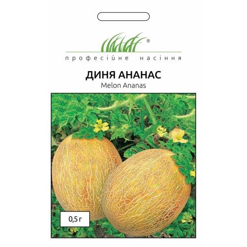 Дыня АНАНАС Професійне насіння 0,5 г.