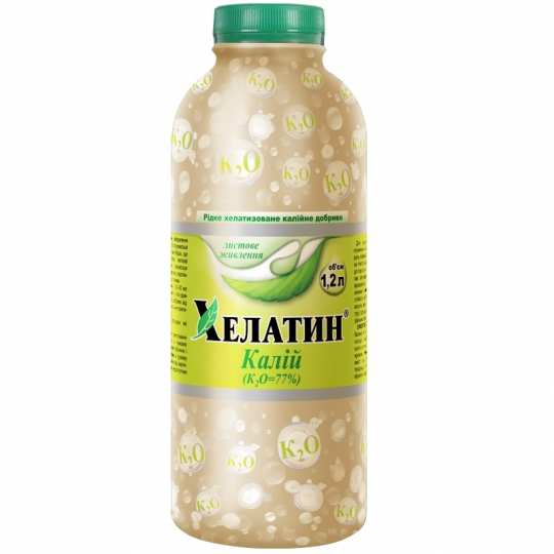 Удобрение ХЕЛАТИН КАЛИЙ Helatin 1.2 л