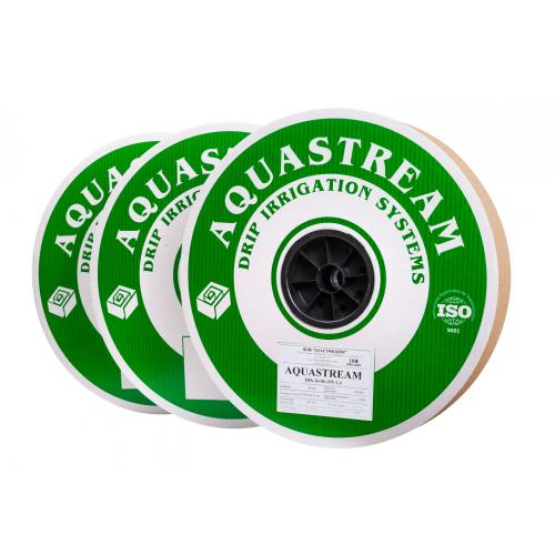 Капельная лента AQUASTREAM (Аквастрим) 8 mil 10 см 1,6 л/ч 1 м
