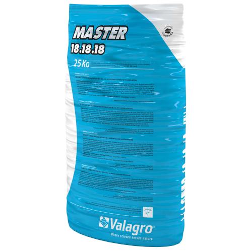 Комплексное удобрение Мастер (MASTER) 18.18.18.+3 Valagro