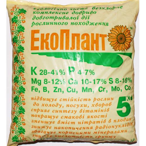 Удобрение ЭКОПЛАНТ 5 кг