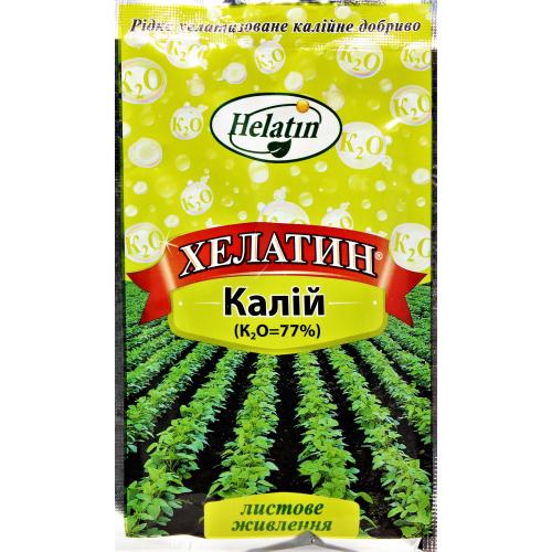 Удобрение ХЕЛАТИН КАЛИЙ (77 %) Helatin