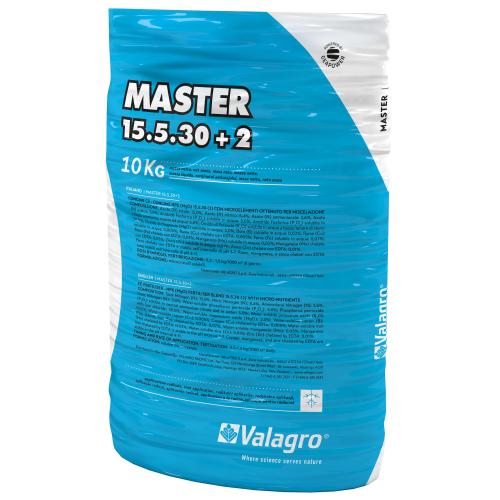 Комплексное удобрение Мастер (MASTER) 15.5.30+2 Valagro 25 кг