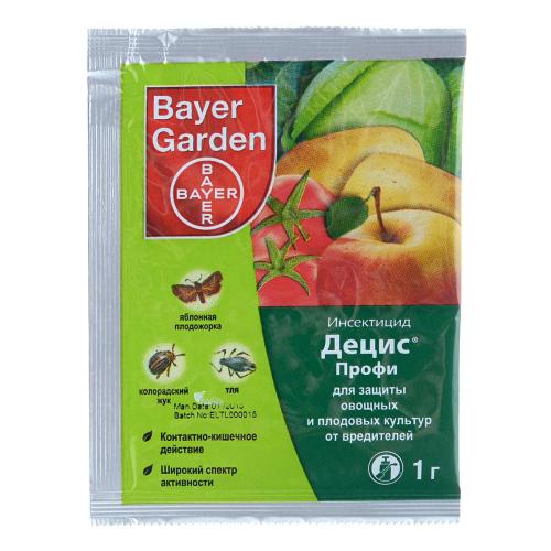 Инсектицид ДЕЦИС ПРОФИ 25 WG в.г. Bayer 600 г