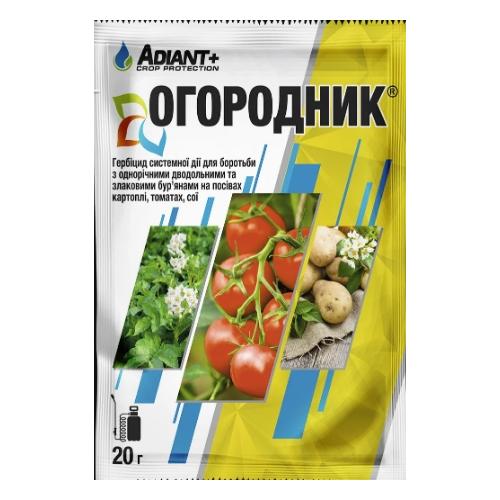 Гербицид ОГОРОДНИК (аналог ЗЕНКОР) 20 г