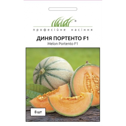 Диня Професійне насіння Портенто 8 шт
