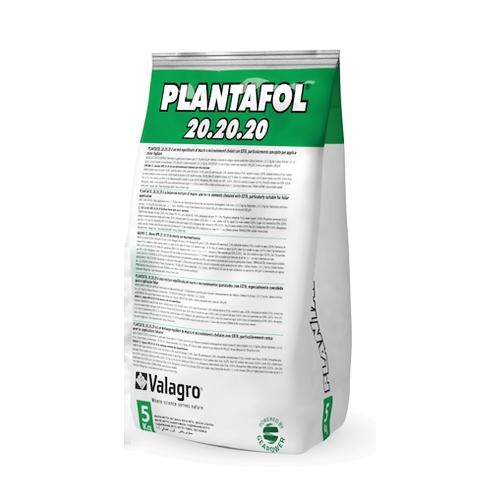 Комплексное удобрение ПЛАНТАФОЛ (PLANTAFOL) NPK 20.20.20. (рост плодов) Valagro 5 кг