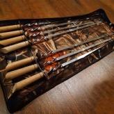 Набор шампуров 7 штук в чехле