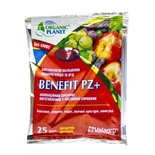 BENEFIT PZ plus | БЕНЕФИТ PZ + cтимулятор увеличения размера плодов Valagro Organic Planet