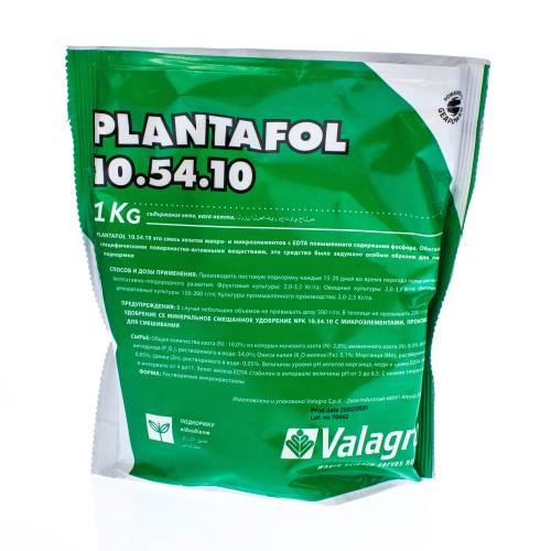 Комплексное удобрение ПЛАНТАФОЛ (PLANTAFOL) 10.54.10 (цвитение, бутонизация) Valagro