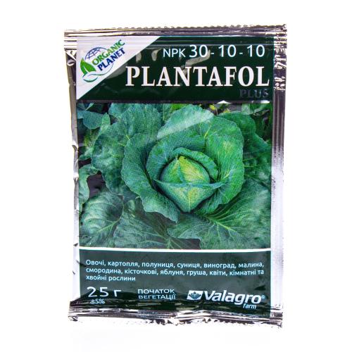 Комплексное удобрение Плантафол (PLANTAFOL) Valagro 30.10.10 ( начало вегетации) Organic Planet