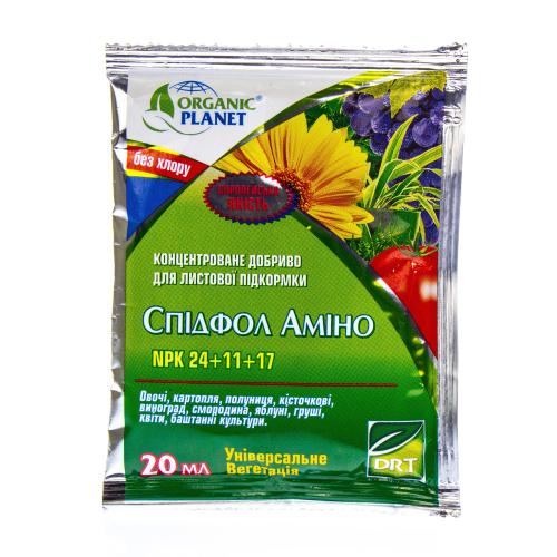 Концентрированное удобрение Спидфол Амино 24.11.17 Organic Planet