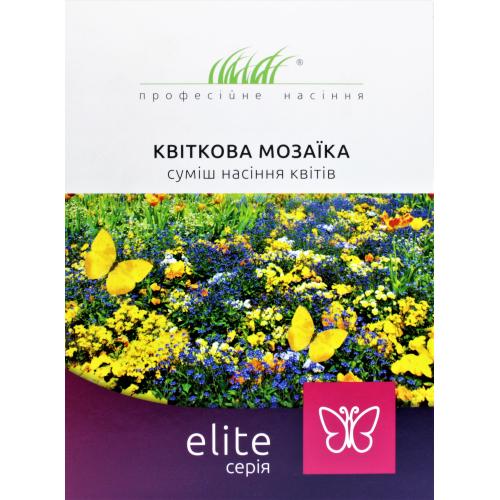 ЦВЕТОЧНАЯ МОЗАИКА смесь семян цветов Професійне насіння 30 г