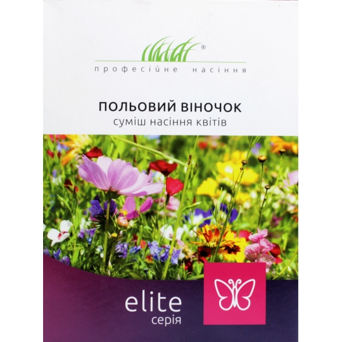 ПОЛЕВОЙ ВЕНОЧЕК смесь семян цветов Професійне насіння 30 г