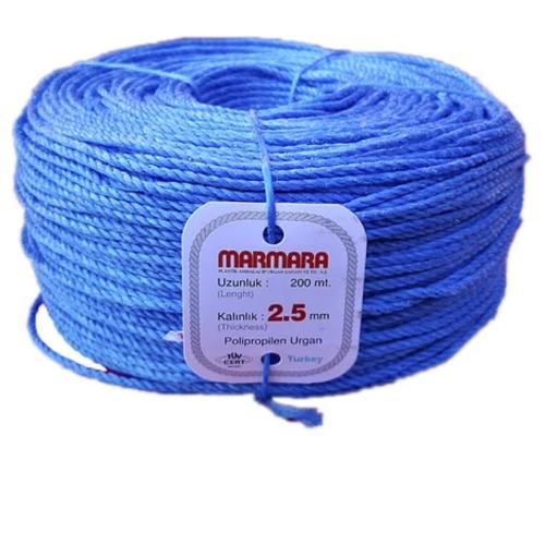 Канат полипропилен MARMARA 2.5 мм 200 м