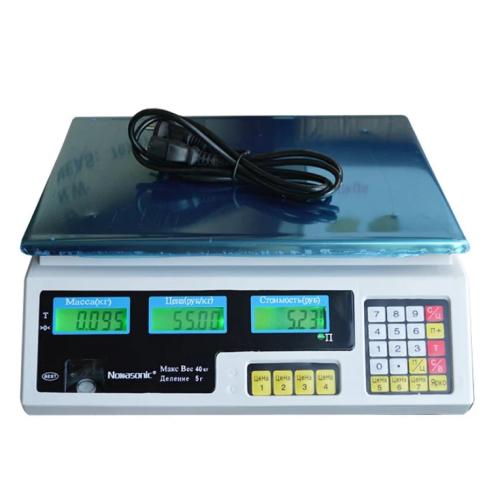 Весы торговые Nokasonik 6 V на 40 кг