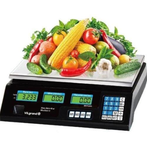 Весы торговые Nokasonik 4V на 40 кг