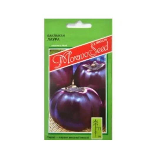 Семена Баклажан Лаура 0,6 грамма Moravoseed