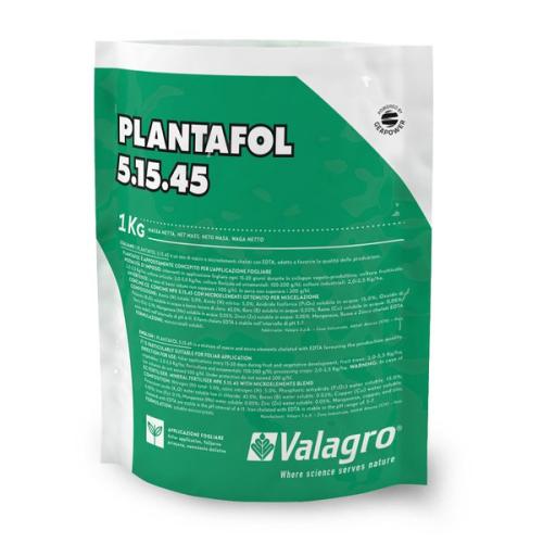 Комплексное удобрение ПЛАНТАФОЛ (PLANTAFOL) 5.15.45. (дозревания плодов) Valagro 1 кг