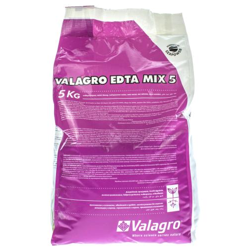 Микроэлементы EDTA (ЕДТА) МИКС 5 SG Valagro 1 кг