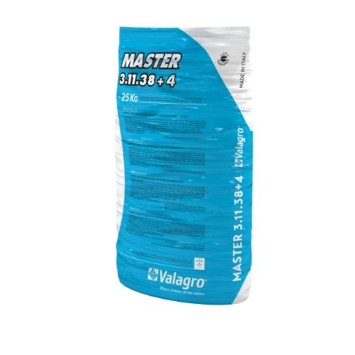 Комплексное удобрение Мастер (MASTER) 3.11.38.+4 Valagro  25 кг
