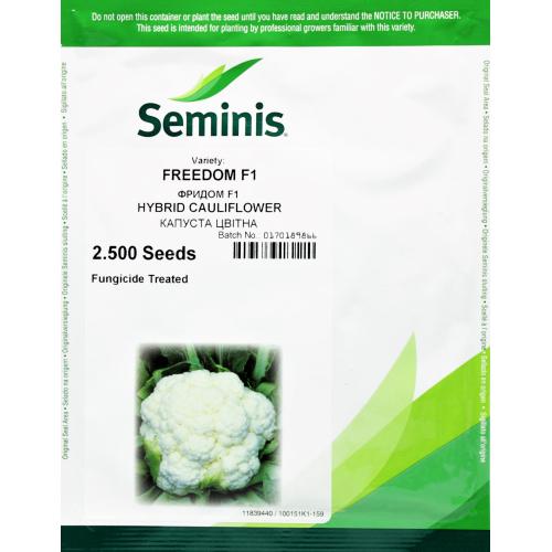 Капуста цветная Фридом F1 2500 семян Seminis