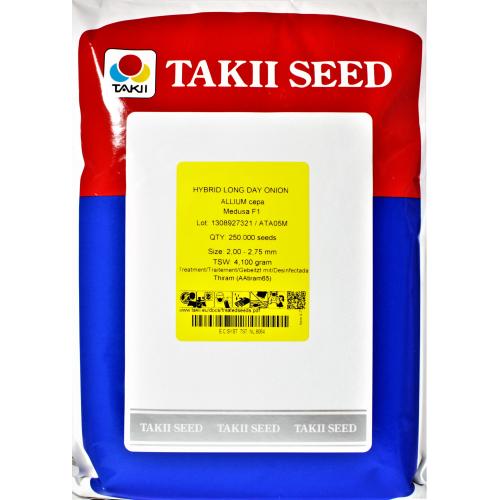Лук МЕДУЗА F1 Takii Seeds 250 000 шт