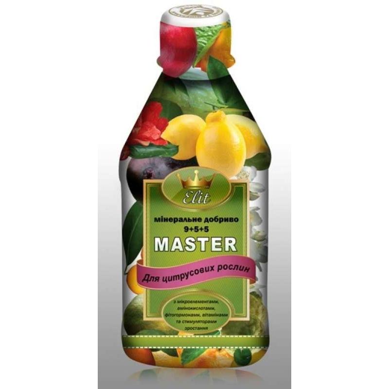 Удобрение ROST-MASTER ELIT для цитрусовых растений 9+5+5  0,3 л