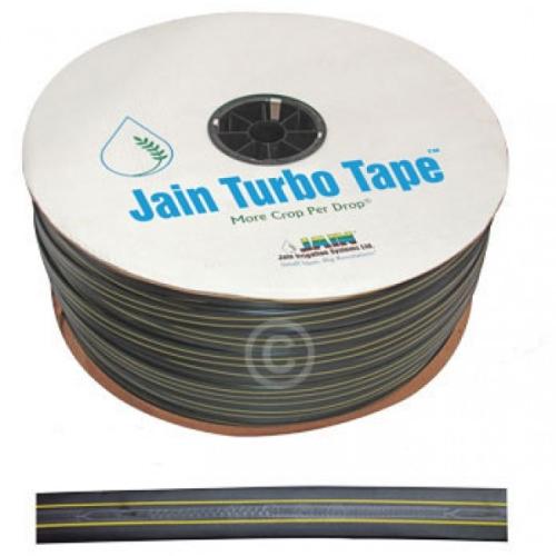 Капельная лента Jain Turbo Tape 8 mil 20 см 1000 м